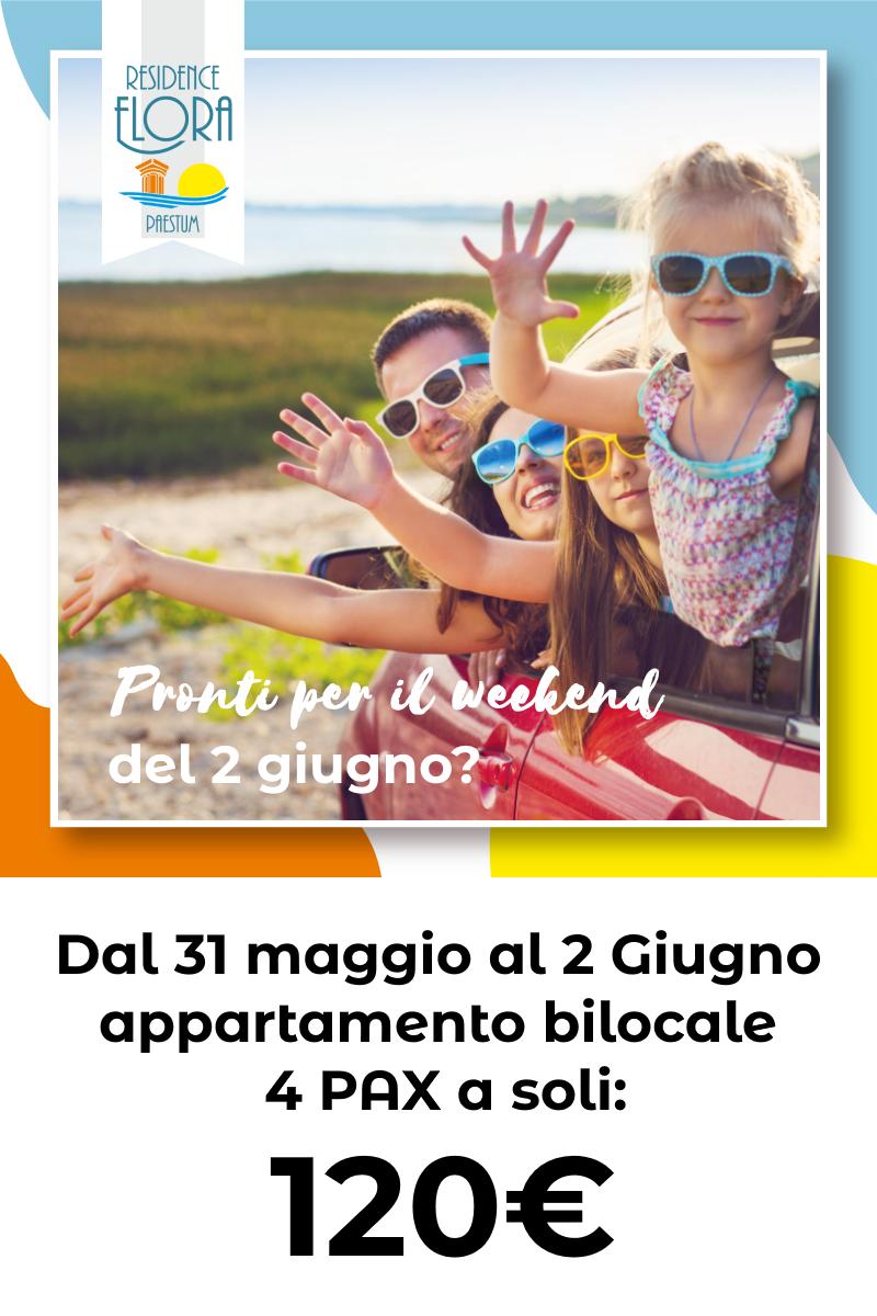 Promo Giugno Residence Flora Paestum